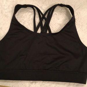 Justice Soft solid back girls bra top